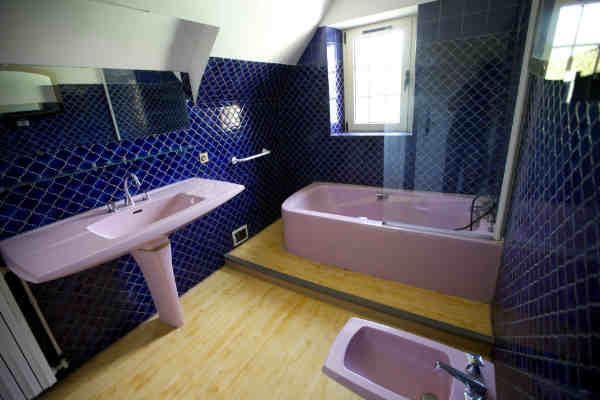 Gite sarlat dordogne salle de bains